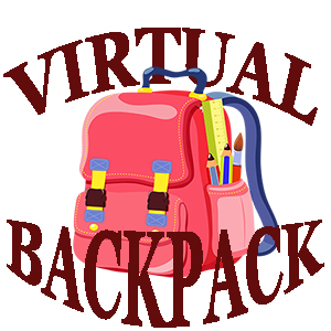 Image result for virtual backpack clip art