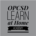 OPCSD Learn at Home Academy logo