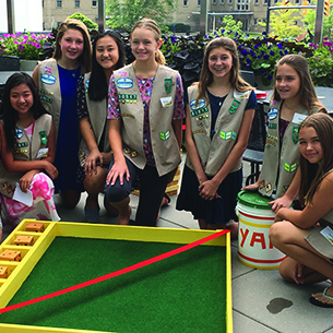 OPMS Girl Scout Troop 30517 Present Service Project