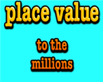 place value millions