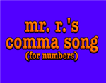 comma song