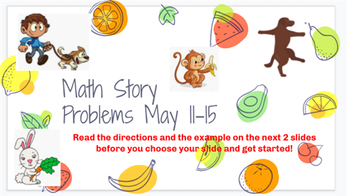 healthy math stories