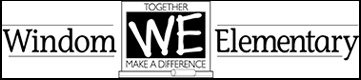 Windom Elementary Logo - WE - Together we make a difference