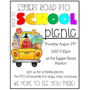 Back to School Picnic flyer