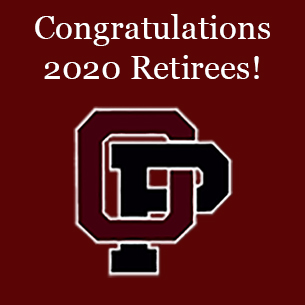 OP logo with the words Congratulations 2020 Retirees.