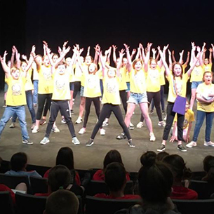Ellicott students perform in the Shea's Theater Festival