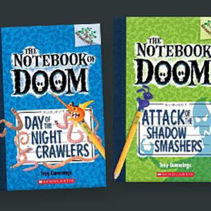 Two Notebook of Doom Books