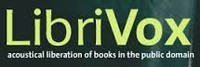 LibriVox accoustical liberation of books in the public domain logo
