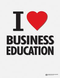 I heart business education