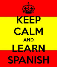 Keep calm and learn Spanish meme