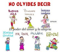 Poster with spanish phrases