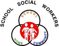School Social Workers Logo