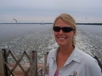 Ms. Beyer @ James River Ferry